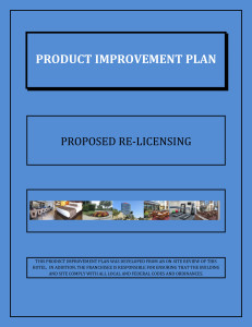 PRODUCT IMPROVEMENT PLAN